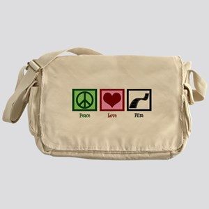 Peace Love Film Messenger Bag