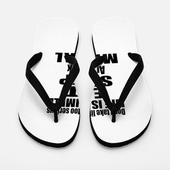 Eat Sleep And Mezcal Flip Flops