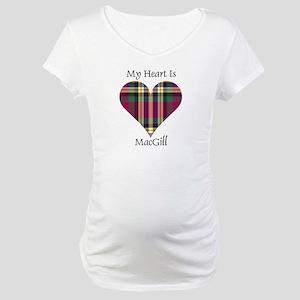 Heart - MacGill Maternity T-Shirt