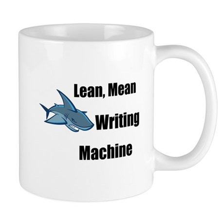 Lean Mean Writing Machine Stu Mug