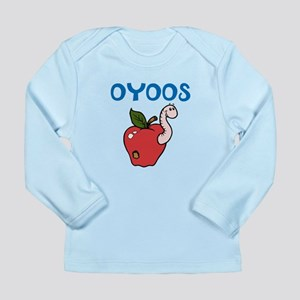 OYOOS Kids Appleworm design Long Sleeve Infant T-S