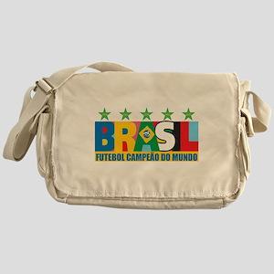 Brazilian World cup soccer Messenger Bag