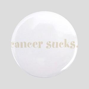 "cancer sucks. (words to live 3.5"" Button"