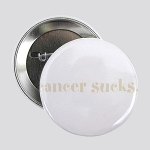 "cancer sucks. (words to live 2.25"" Button"