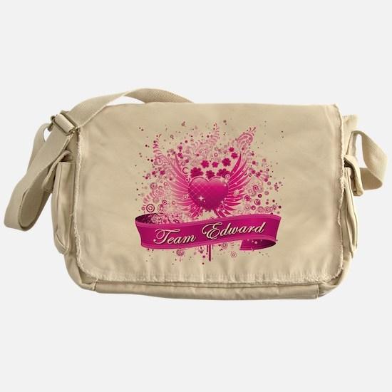 Team Edward Messenger Bag