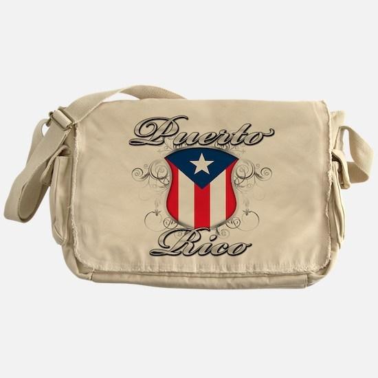 Puerto rican pride Messenger Bag
