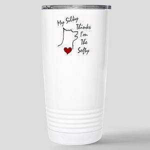 Silky Terrier Stainless Steel Travel Mug