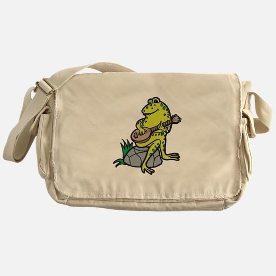 Silly Frog Play Guitar Messenger Bag
