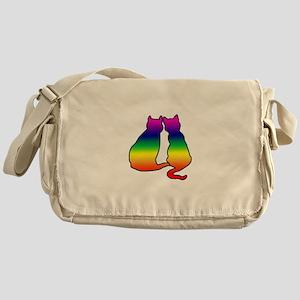 Cats in Love Messenger Bag