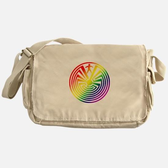 Life Maze Messenger Bag