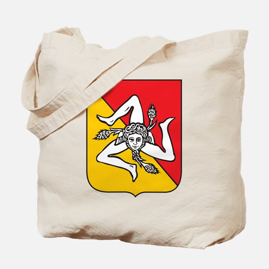 Sicilian stickers and magnets Tote Bag