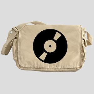 Retro Classic Vinyl Record Messenger Bag
