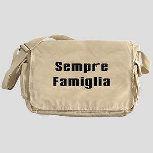 Always in the family Messenger Bag