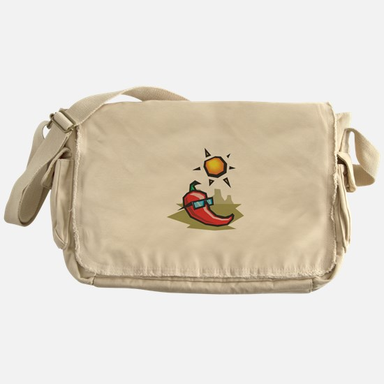 Chillin' Chili Pepper Messenger Bag