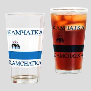 Kamchatka Flag Drinking Glass