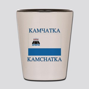 Kamchatka Flag Shot Glass