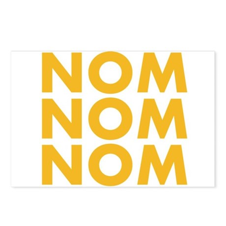 Nom Nom Nom Postcards (Package of 8)
