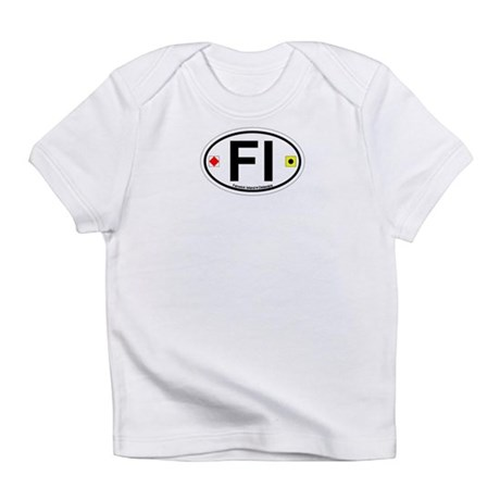 Fenwick Island DE - Oval Design Infant T-Shirt
