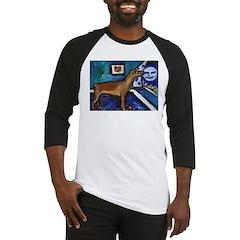 PINSCHER dog art design Baseball Jersey