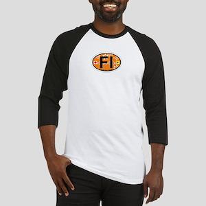 Fenwick Island DE - Oval Design Baseball Jersey