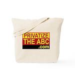 Privatize The ABC Tote Bag