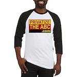 Privatize The ABC Baseball Jersey