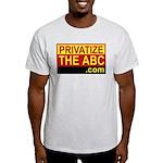 Privatize The ABC Ash Grey T-Shirt