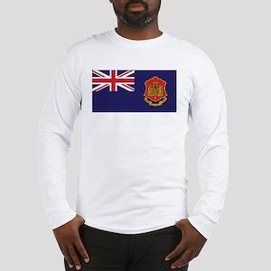 Gibraltar Government Ensign Long Sleeve T-Shirt
