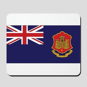 Gibraltar Government Ensign Mousepad