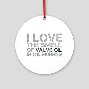 Valve Oil Ornament (Round)