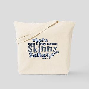 Skinny Genes Tote Bag