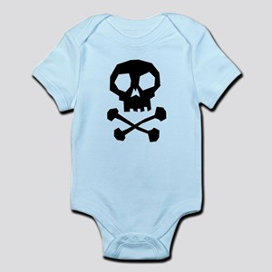 Skull Cross Bones Infant Bodysuit