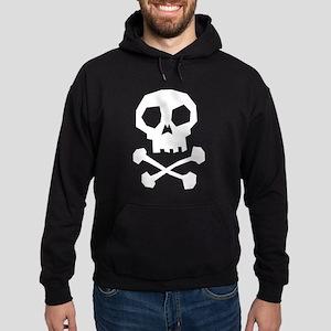 Skull Cross Bones Hoodie (dark)