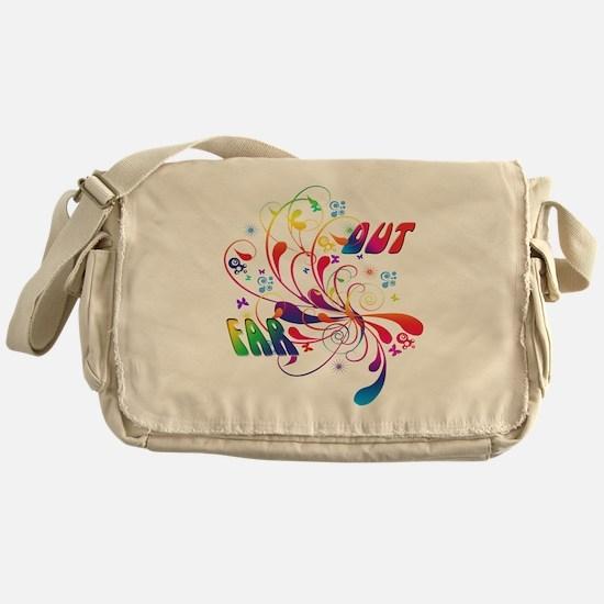 Far Out Messenger Bag
