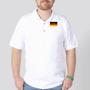 Germany State Flag Golf Shirt