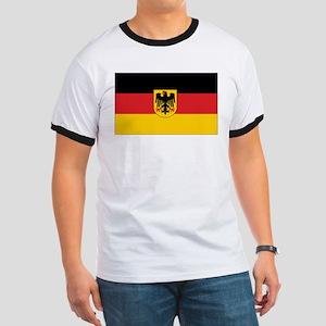 Germany State Flag Ringer T