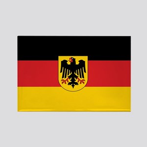 Germany State Flag Rectangle Magnet
