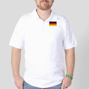 Germany Flag Golf Shirt