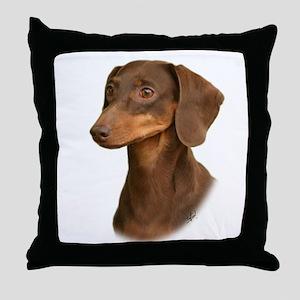 Dachshund 9Y420D-379 Throw Pillow
