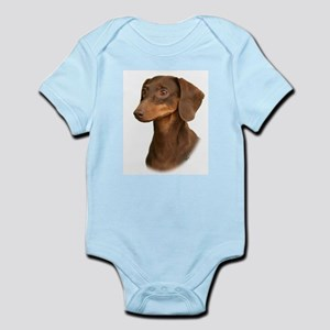 Dachshund 9Y420D-379 Infant Bodysuit