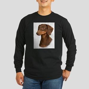 Dachshund 9Y420D-379 Long Sleeve Dark T-Shirt