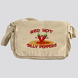 Red Hot Silly Peppers Messenger Bag
