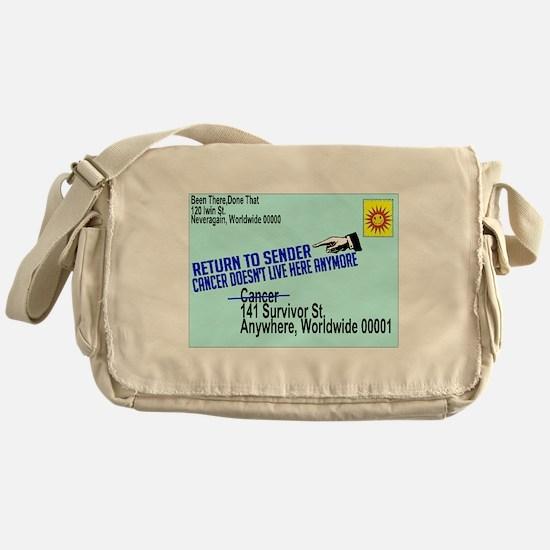 Cancer No More Messenger Bag