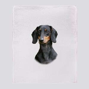 Dachshund 9Y426D-158_2 Throw Blanket