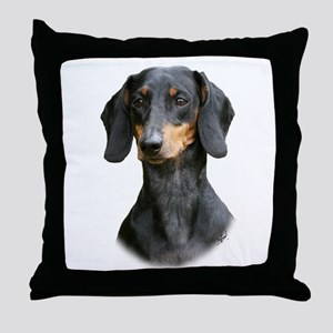 Dachshund 9Y426D-158_2 Throw Pillow