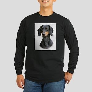 Dachshund 9Y426D-158_2 Long Sleeve Dark T-Shirt