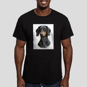Dachshund 9Y426D-158_2 Men's Fitted T-Shirt (dark)