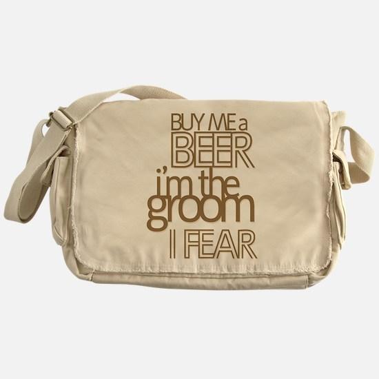 Buy Me a Beer Groom Messenger Bag