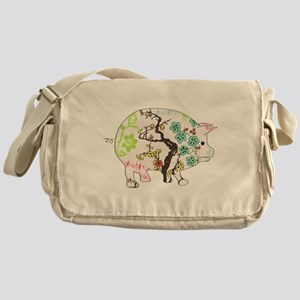Chinese Year of the Pig Messenger Bag
