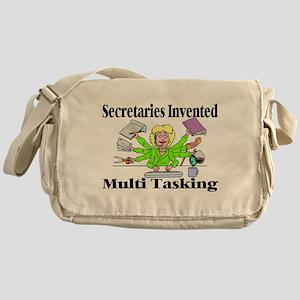 Secretaries Multi Task Messenger Bag